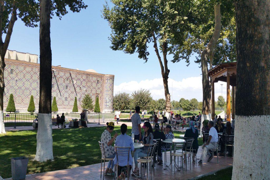 Cafe in Samarkand