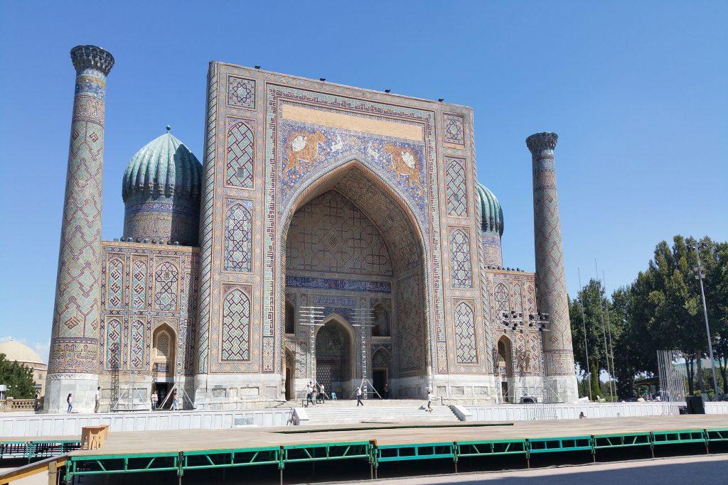 Tiliya-Khori-Medrese in Samarkand