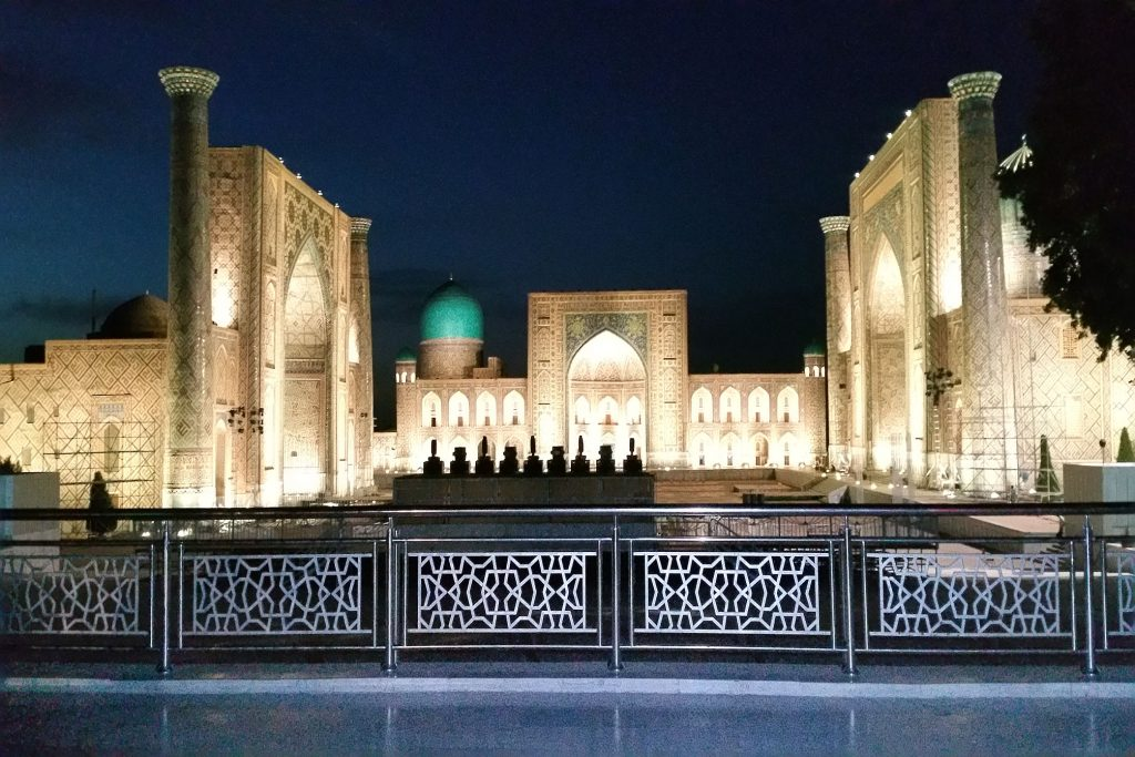 nachts am Registan