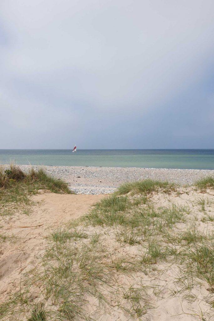 Strandblick Fehmarn