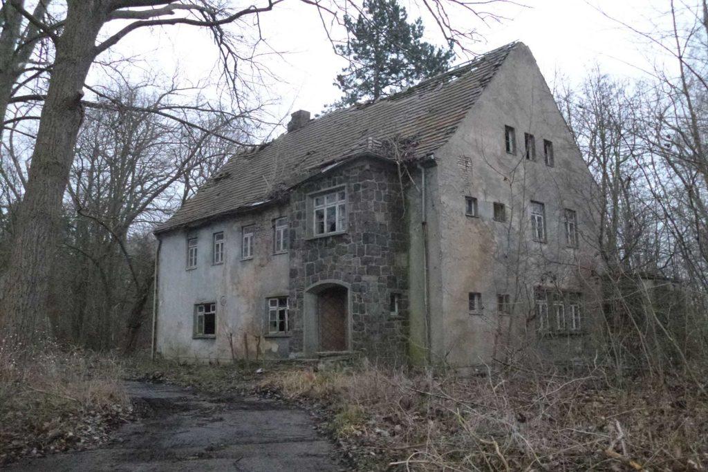 Halbinsel Wustrow-altes Wohnhaus