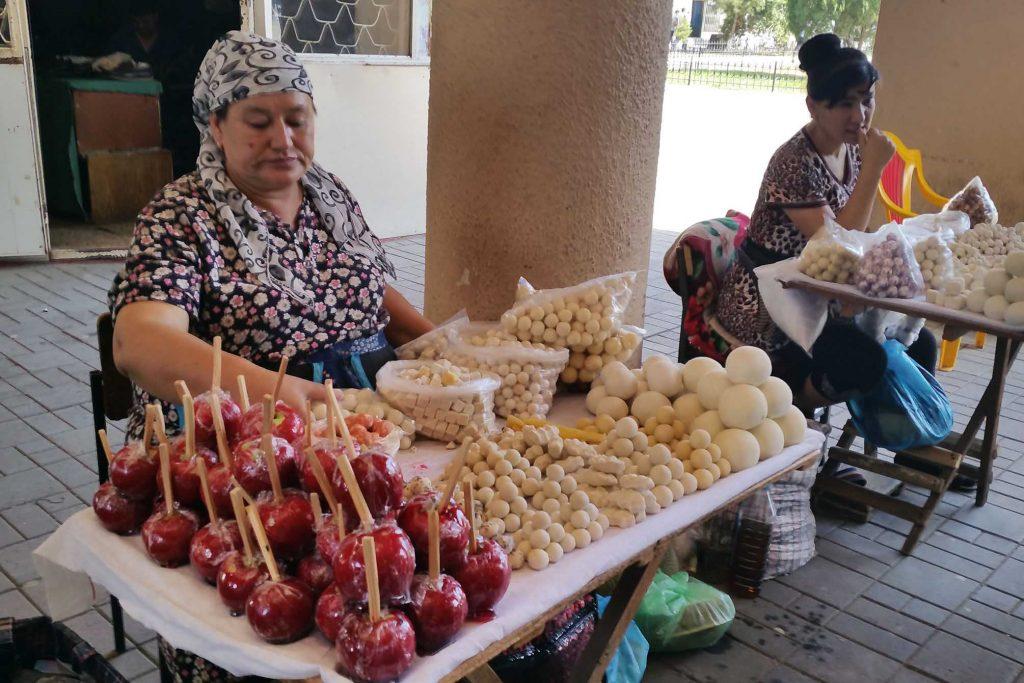 Marktstand in Taschkent
