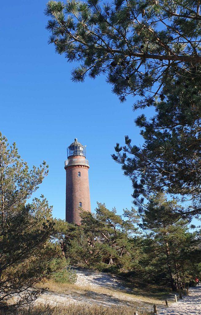 Blick aud den Leuchtturm Darsser Ort