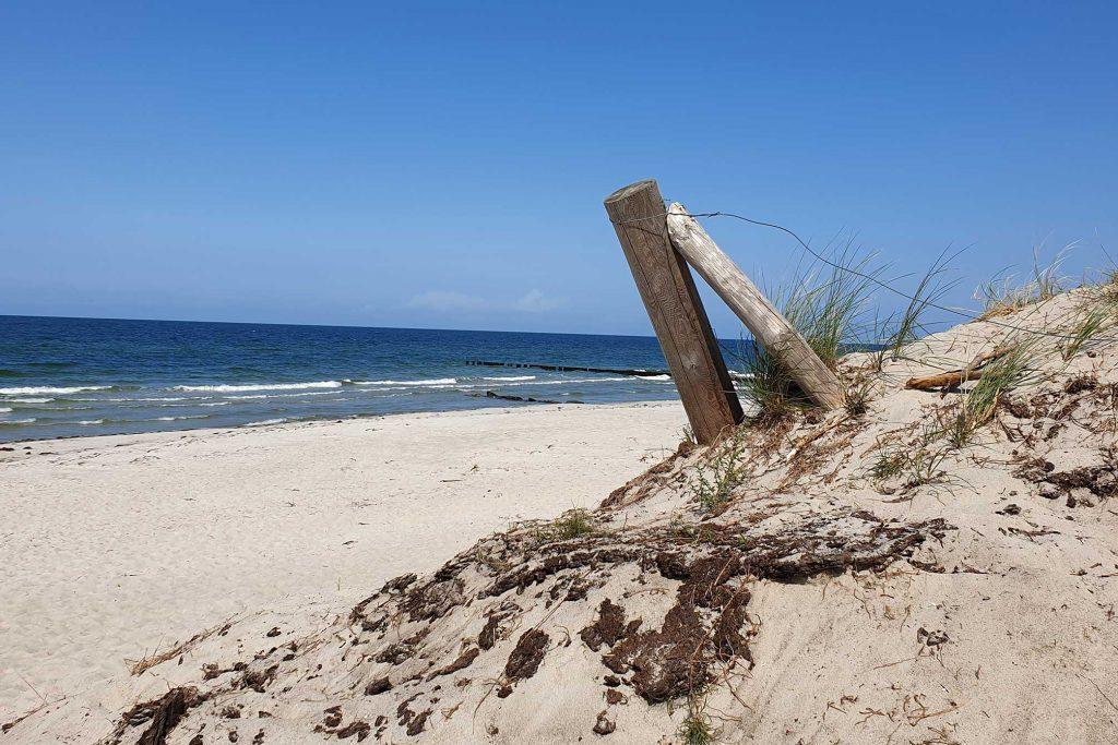 Strandimpression auf Hiddensee